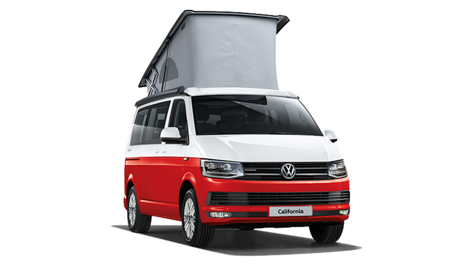 The VW California beach